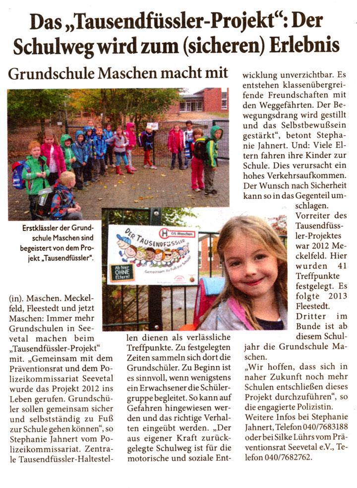 2014-11-Unser Seevetal-Tausendfüssler-Projekt